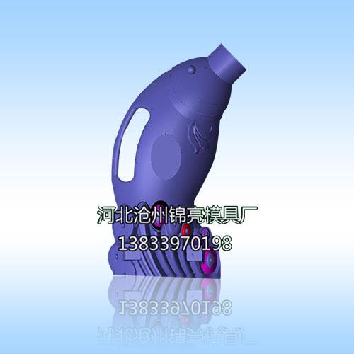 儿童饮料瓶模具三维图