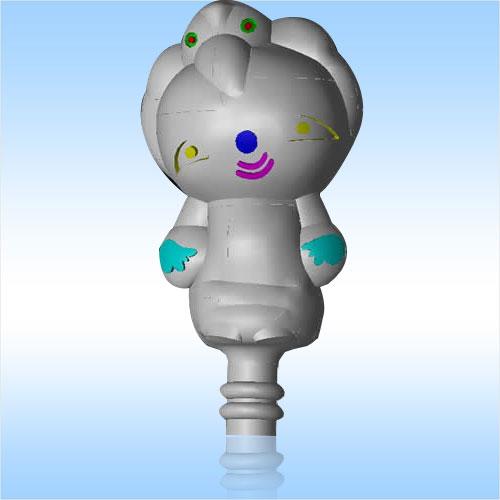 吉祥娃娃果冻模具